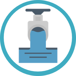 Discharge/Reuse icon