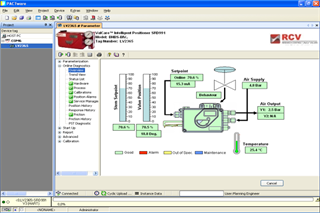 Screenshot of DTM Software