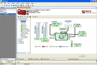Screenshot of DTM Software