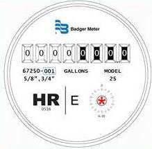 HR-E Dial Face