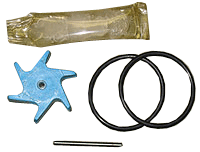 Impeller Repair Kit for 220BR, 220SS , 225, and 226 Series Flow Sensors