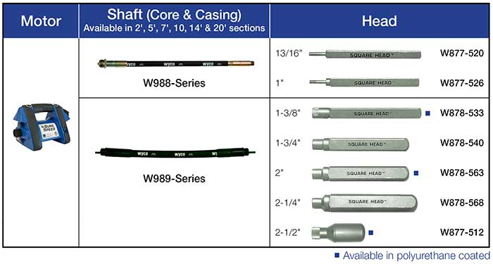 Vibrator Shaft - 8900 Series