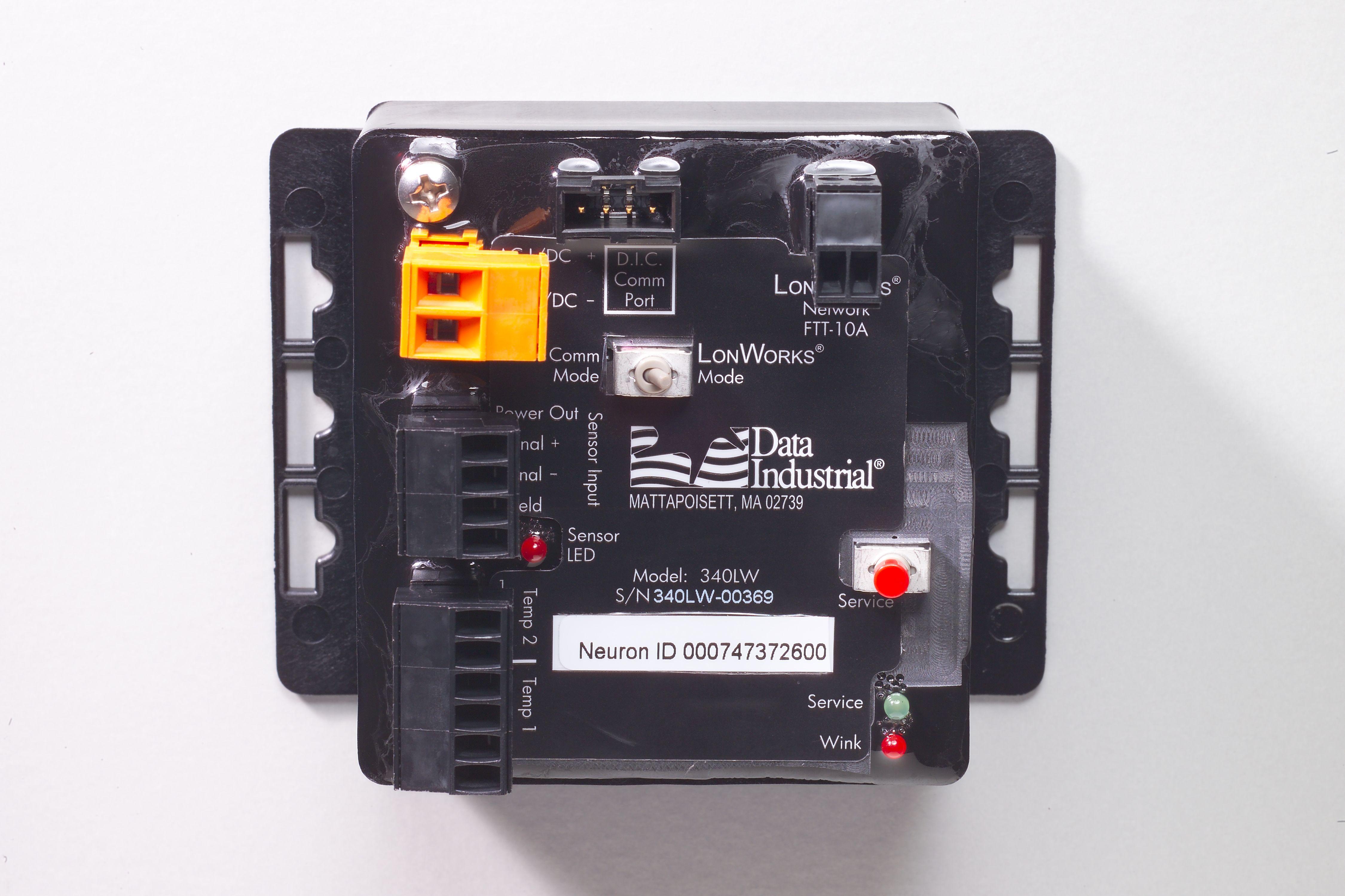 340LW Series LonWorks® BTU Transmitter