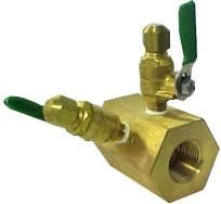 V-Brass Series Venturi Low Pressure Loss Flow Meter