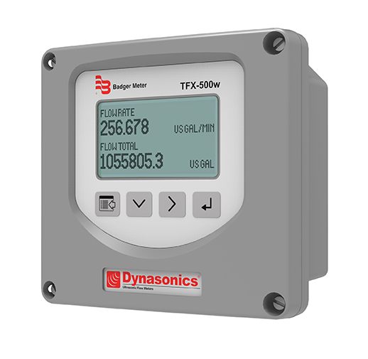 TFX-500w Ultrasonic Clamp-on Flow Meter