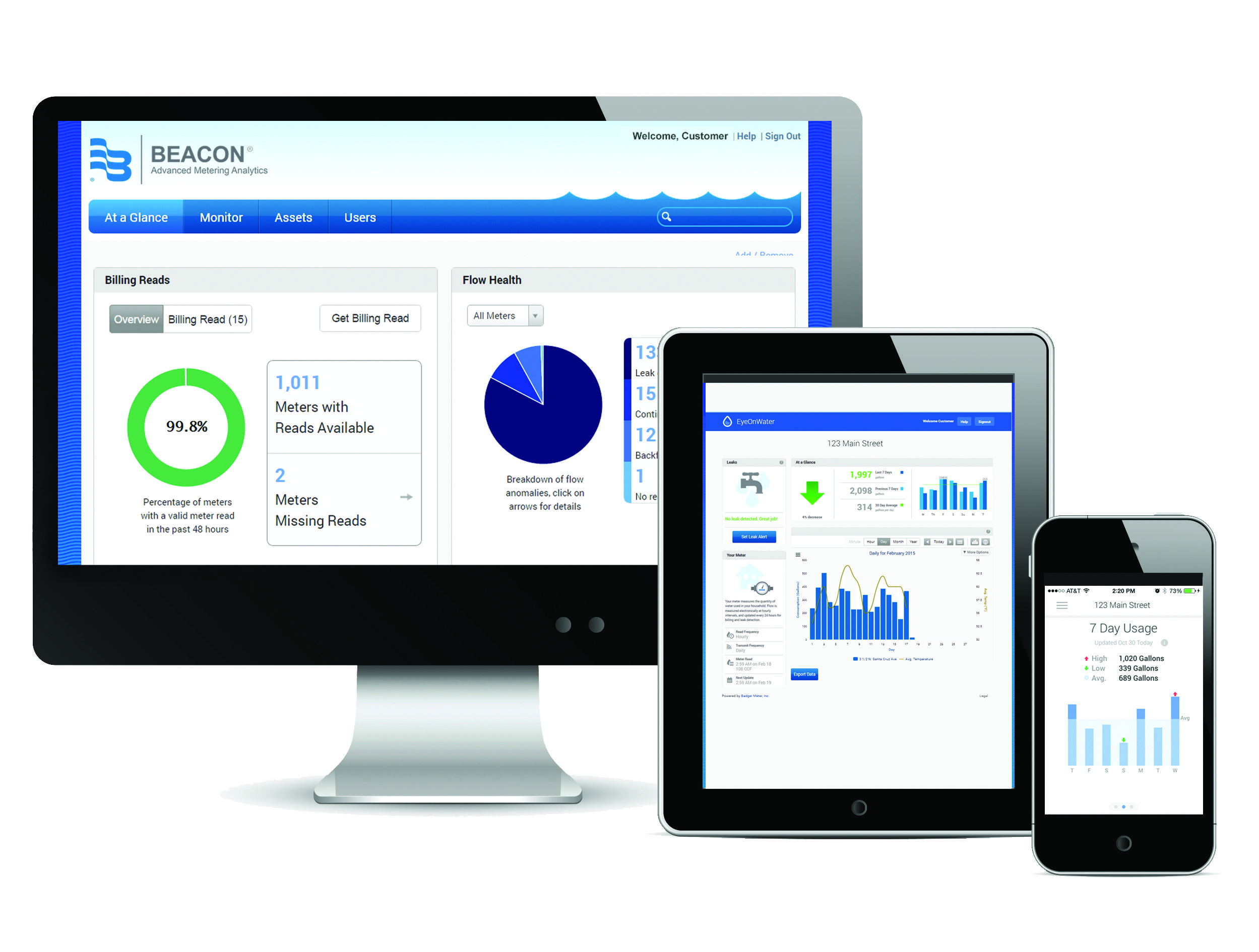 Managed Solution, BEACON® Advanced Metering Analytics (AMA)