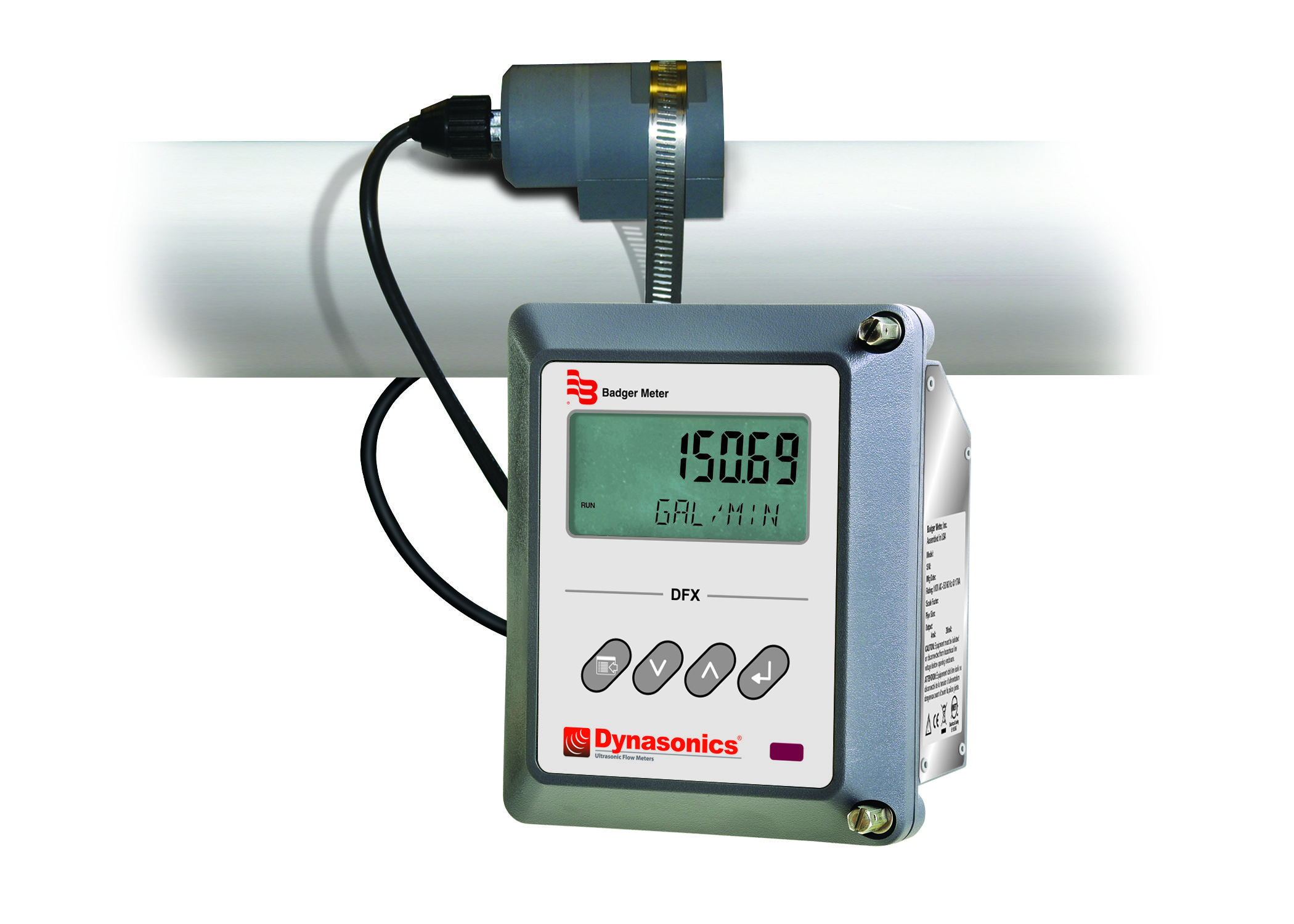 Dfx Doppler Ultrasonic Flow Meters Badger Meter