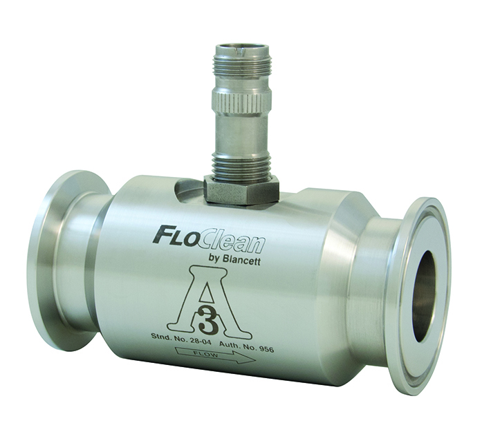 FloClean Sanitary Turbine Flow Meter