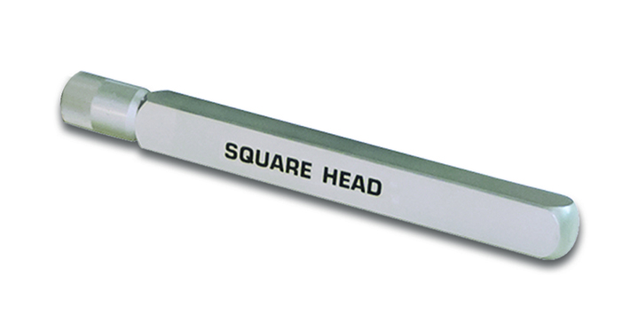 Square Head for Concrete Vibrators