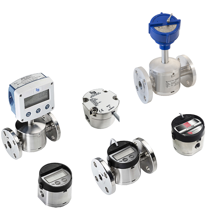 Industrial Gear Flow Meters